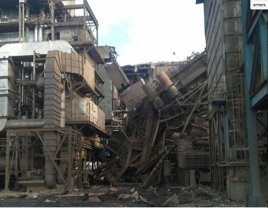 La explosión dejó a cinco personas fallecidas. (Foto: PNC)