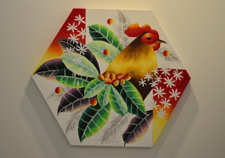 Las piezas son creadas por artistas guatemaltecos. (Foto: Selene Mejía/Soy502)