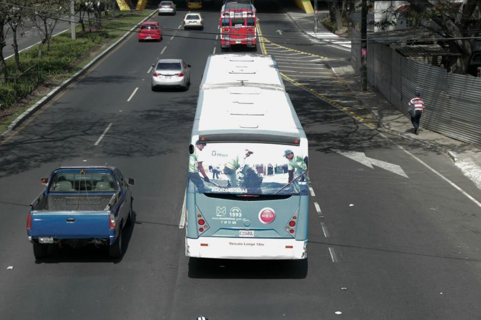 Este servicio tendrá un costo de 2 quetzales con 50 centavos.  (Foto: Alejandro Balán/ Soy502)
