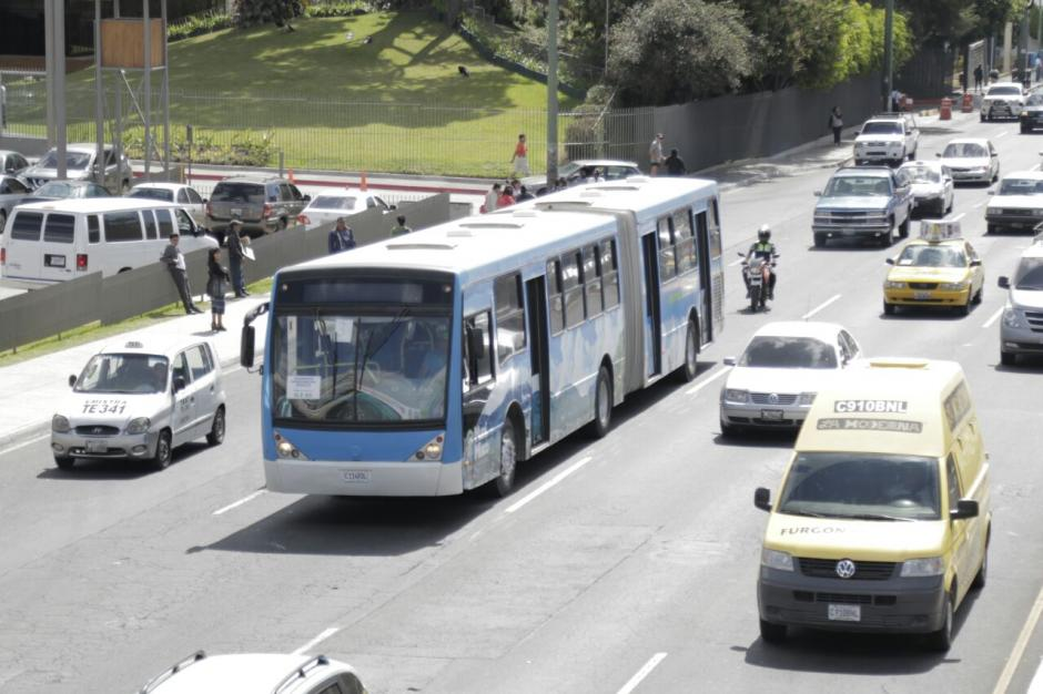 Este sábado se inició el funcionamiento de los autobuses del Express Roosevelt. (Foto: Alejandro Balán/ Soy502)