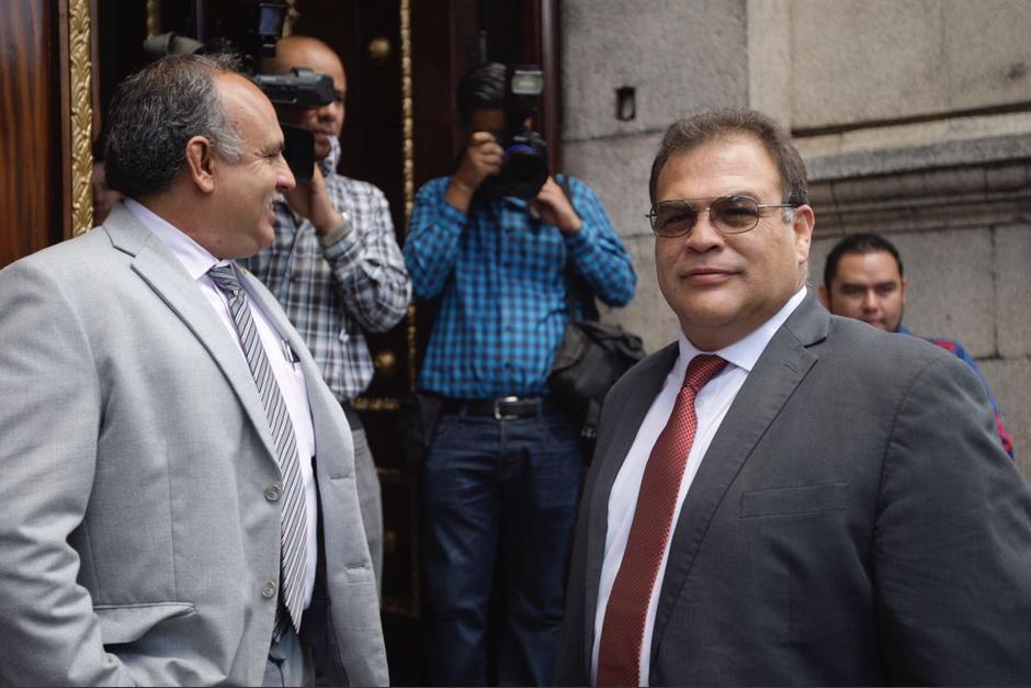 El exjefe de la SAAS fue destituido el lunes. (Foto: Cortesía José Castro)