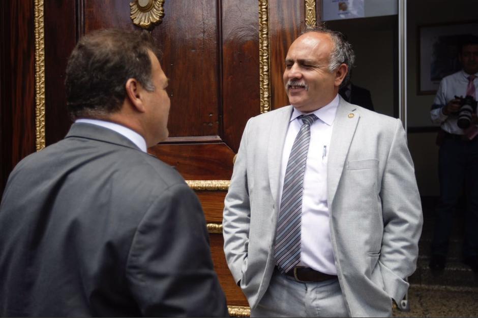 El diputado Edgar Sandoval afirmó que López es su amigo. (Foto: Cortesía José Castro)
