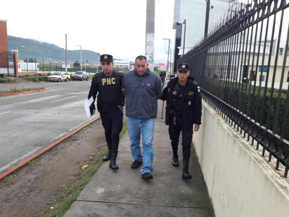 Rodrigo Ranferí Calderón Reyes fue capturado en San Carlos Sija, Quetzaltenango. (Foto: PNC)