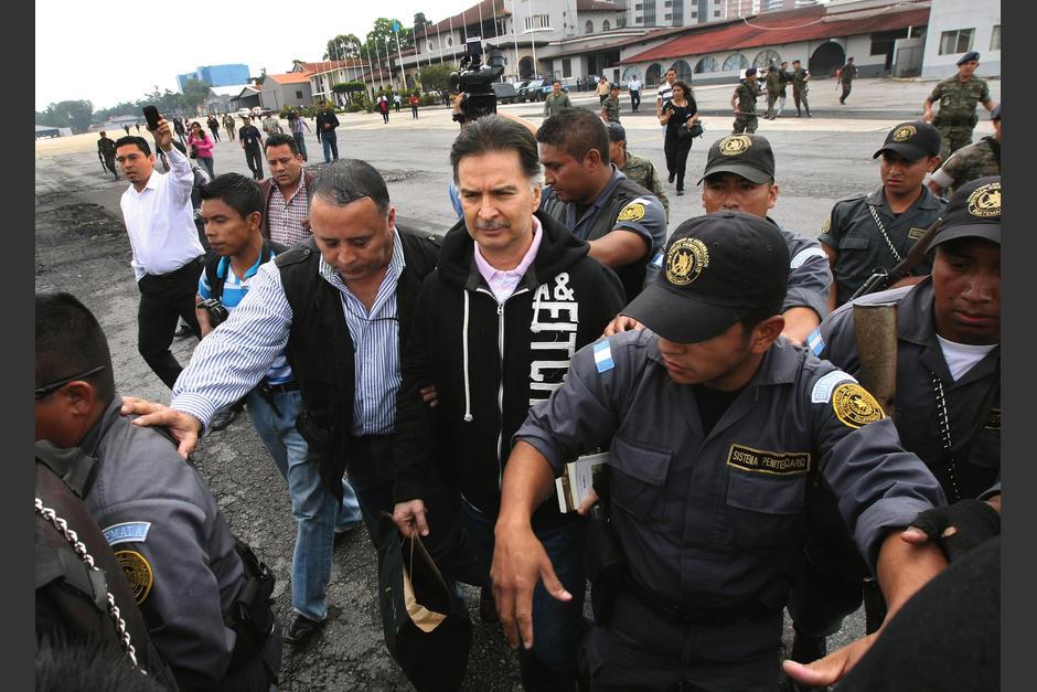 Portillo extraditado