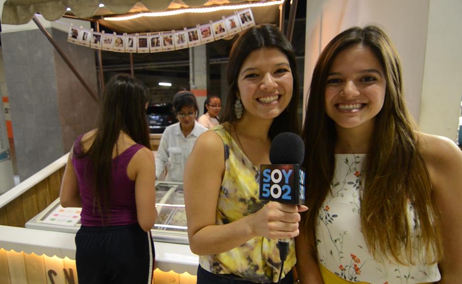 Karen y Karla Molina tradujeron su amor por los helados a un proyecto de emprendimiento que se ha ganado el corazón de sus clientes. (Foto: Selene Mejía/Soy502)