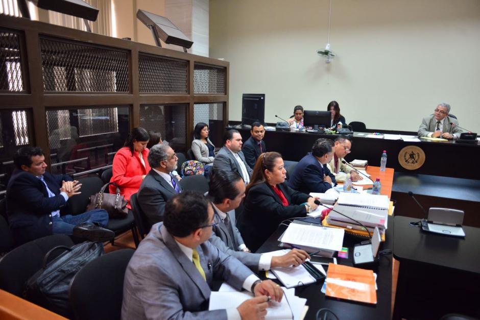 El juez Miguel Ángel Gálvez está a cargo de la audiencia de primera declaración en el caso Cooptación del Estado. (Foto: Jesús Alfonso/Soy502)