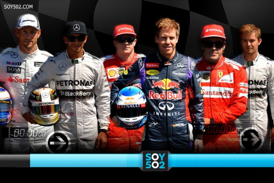 Fórmula Uno, 2014, favoritos