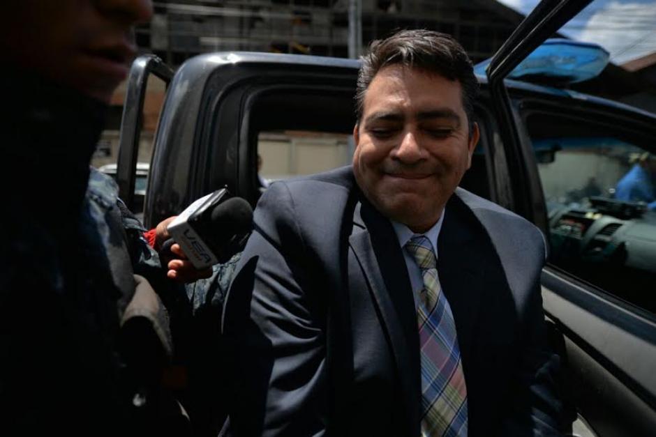 El juez deberá indicarle a Édgar Cristiani los motivos de su detención. (Foto: Wilder López/ Soy502)