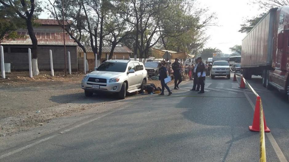 Dos hombres en motocicleta habrían perpetrado el ataque contra Salazar. (Foto: Emeldina Rizo/ Nuestro Diario)