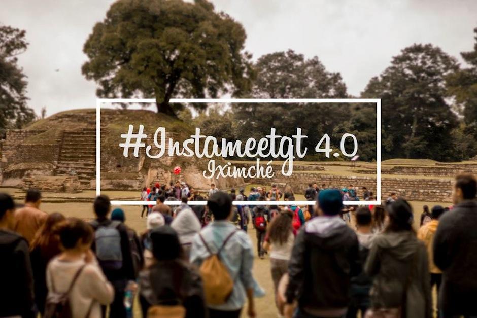 El Instameetgt 4.0 se celebró en las ruinas de Iximché, en Tecpán. (Foto: Fabriccio Díaz)