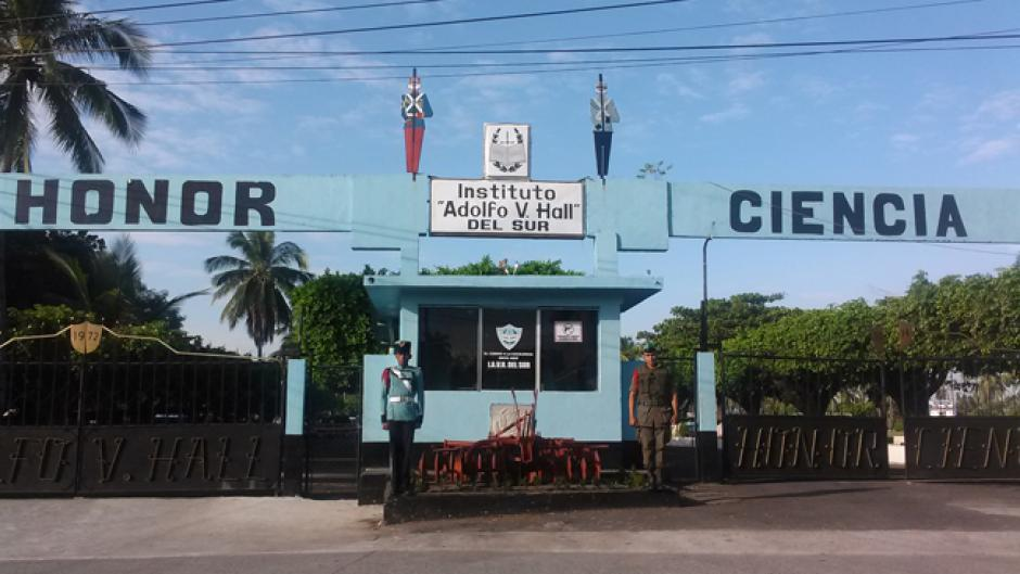 La sede Sur que se ubica en Retalhuleu fue en donde se registró el delito. (Foto: mindef.mil.gt)