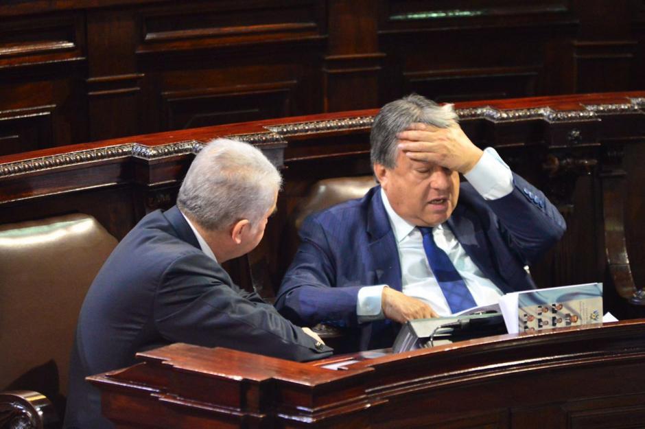 Ambos habrían aprobado la contratación de personal que nunca trabajó en el Congreso. (Foto: Jesús Alfonso/Soy502)