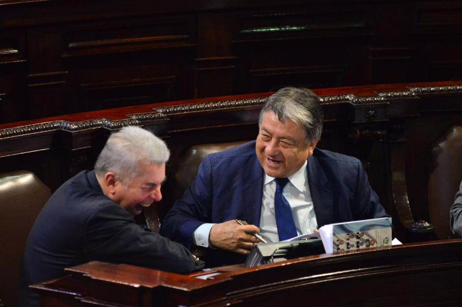Luis Rabbé dijo ayer que no renunciará al Congreso. (Foto: Jesús Alfonso/Soy502)