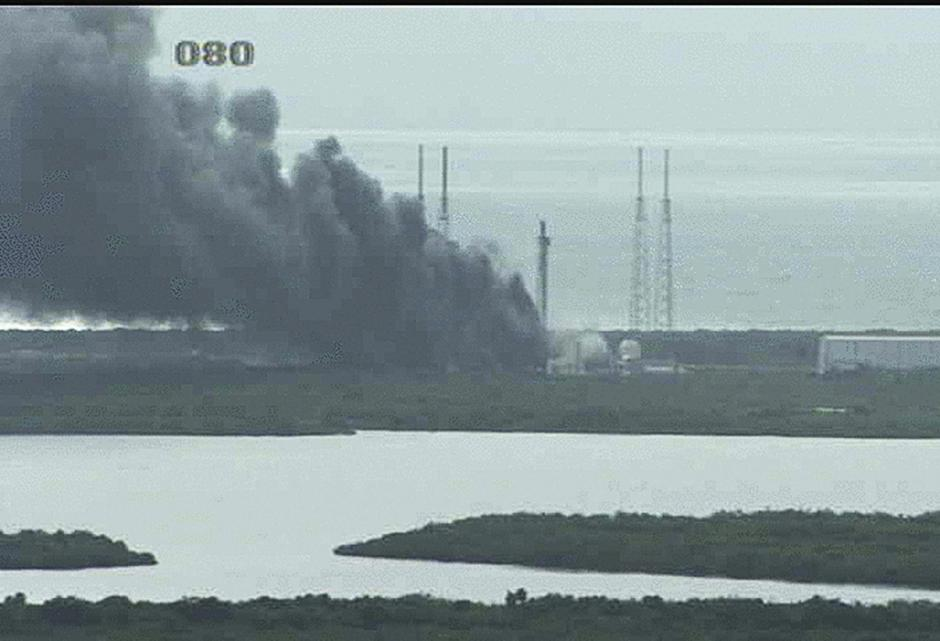 El cohete es propiedad de la empresa aeroespacial SpaceX. (Foto: EFE)