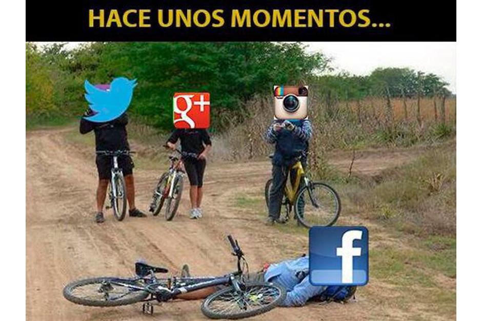 Los usuarios se burlan de Facebook. (Imagen: Twitter)