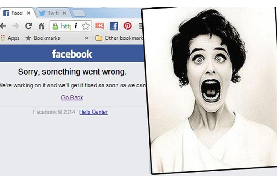 Los usuarios entran en pánico tras caída de Facebook. (Imagen: Twitter)