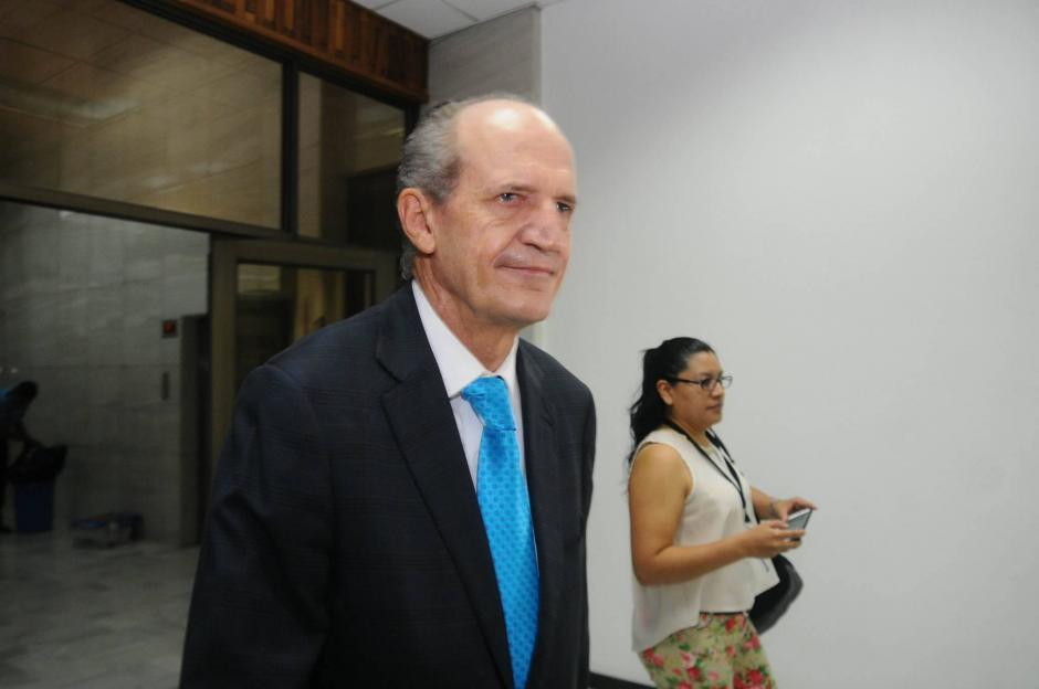 Monentegro se encuentra señalado en el caso Cooptación del Estado. (Foto: Alejandro Balan/Soy502)