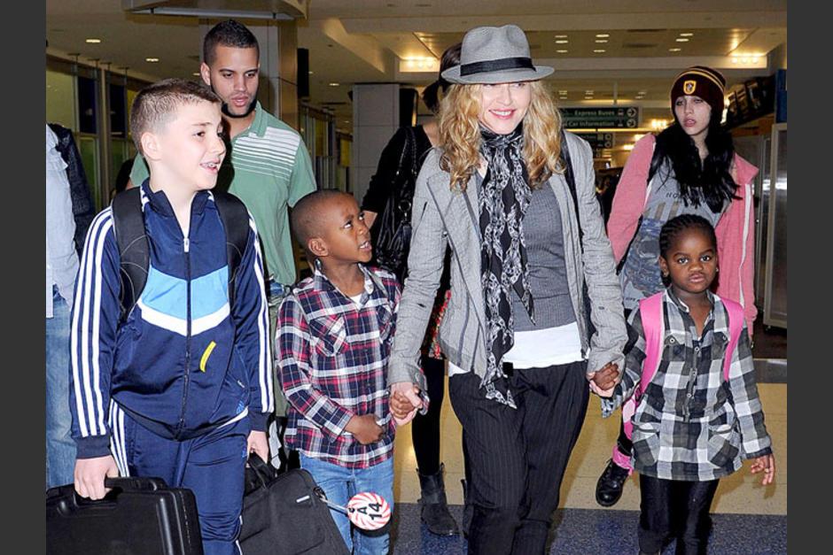 La familia de Maddona se expande. (Foto: The celebrity baby bump)