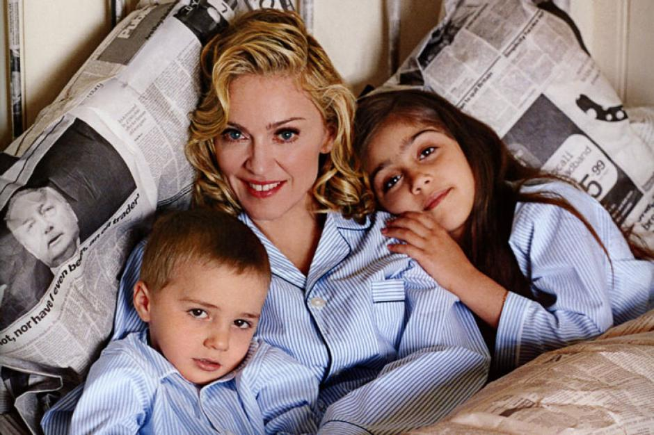 Ellos son los hijos biológicos Lourdes y Rocco . (Foto: VL World News)