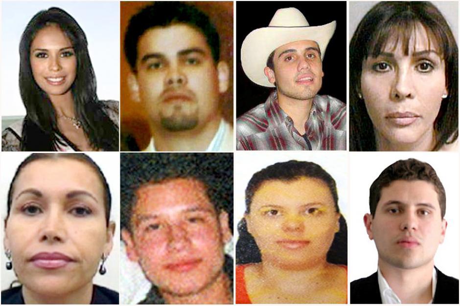"""La abundante familia de """"El Chapo Guzmán"""", gozando de lujos. (Foto: zetatijuana.com)"""
