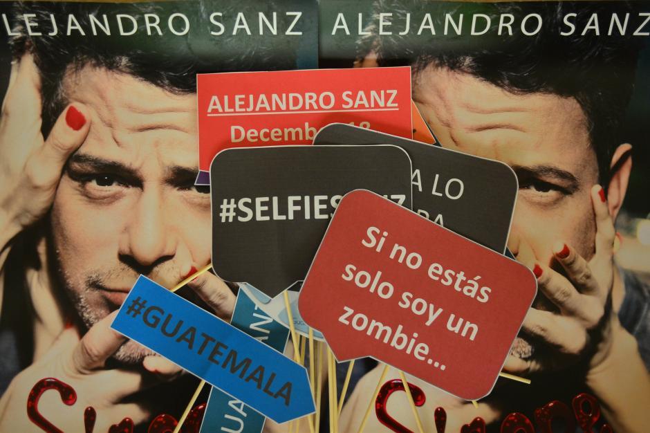 Se afinan los detalles para recibir al cantante Alejandro Sanz. (Foto: Jesús Alfonso/Soy502)