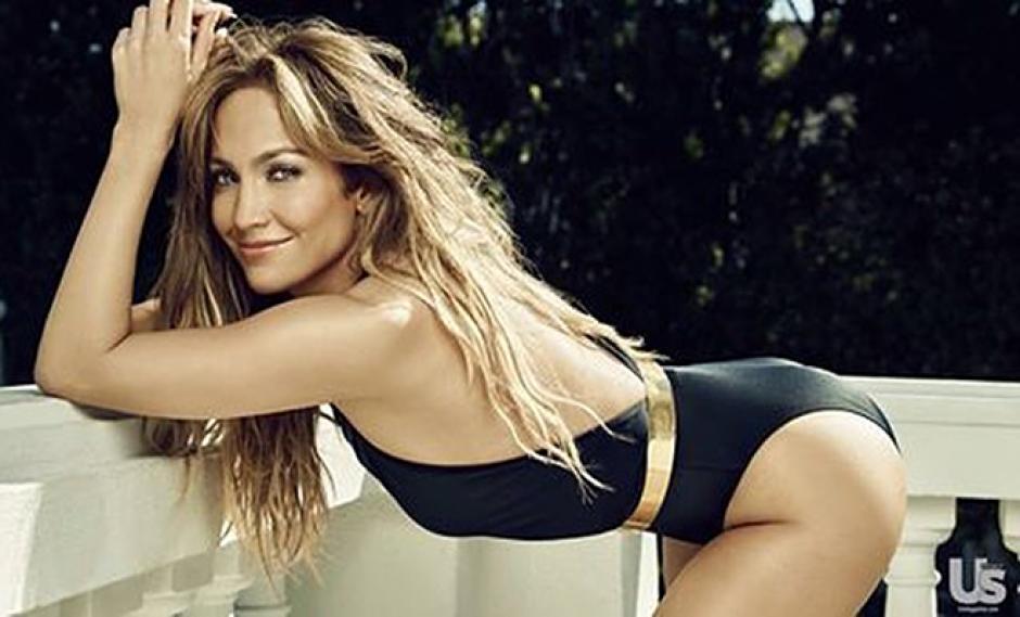 La sensual Jennifer López. (Foto:farandula.com)