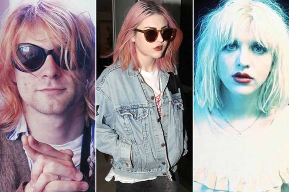 Francis Bean Cobain es una copia fiel de sus dos Kurt, su padre. (Foto: farandulista.com)