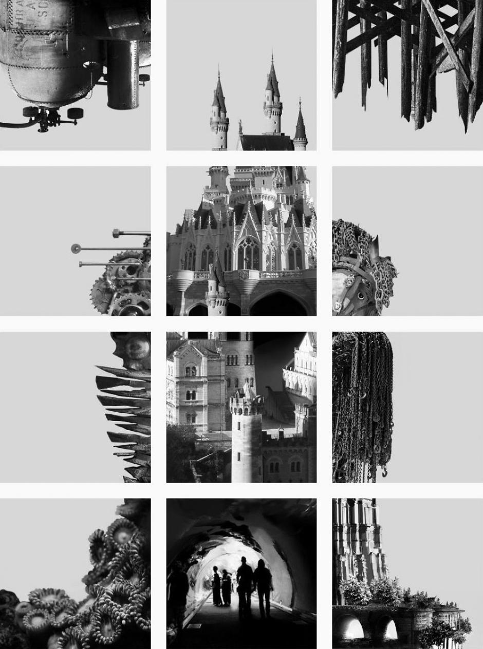 Esta imagen parece ser un castillo en el aire compuesto por muchos detalles. (Foto: FatFeedZero/Instagram)