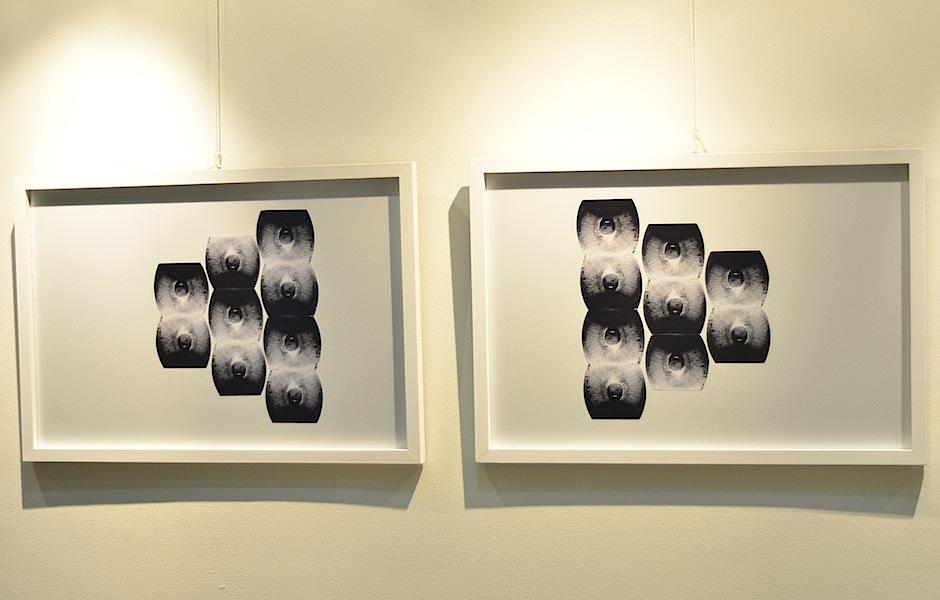 Este trabajo se exhibe en Galería Guatemala de Fundación G&T, zona 9. (Foto: Selene Mejía/Soy502)