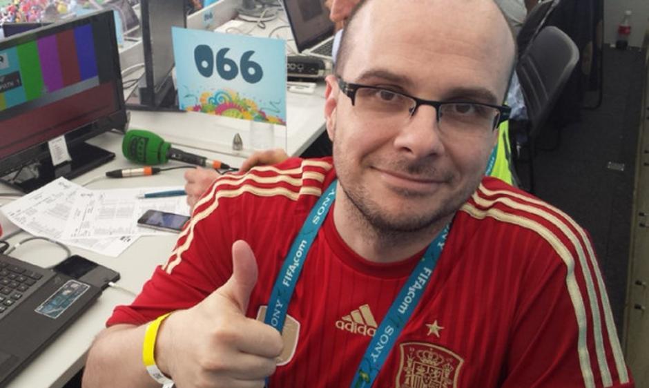 El periodista español es popular en redes sociales. (Foto: El nuevo diario)