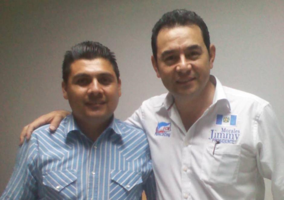 Cristián Chávez se postula por primera vez a un puesto político a sus 35 años. El empresario de transporte público es respaldado por FCN como candidato a la alcaldía de Chinautla. (Foto: Cristián Chávez)