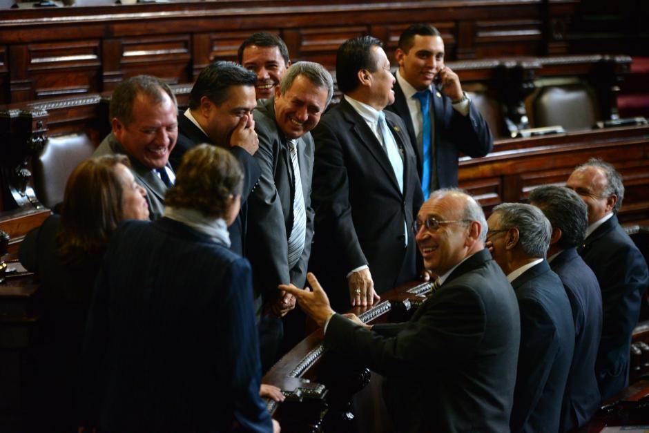 Siete de los ocho diputados de FCN que perdieron su inmunidad no llegaron a la sesión de este jueves. (Foto: Archivo/Soy502)