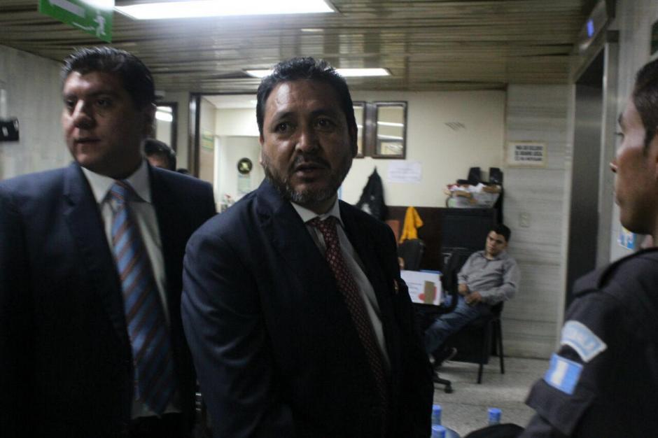 Se le acusa de haber coaccionado a la exmagistrada Claudia Escobar.   (Foto: Jesús Alfonso/Soy502)