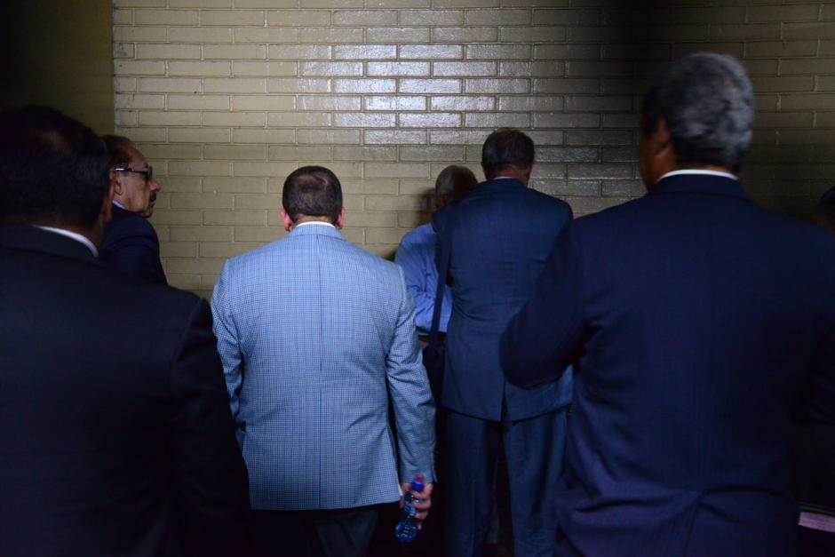 Trasladan a Tribunales a implicados en caso de Cooptación del Estado. (Foto: Jesús Alfonso/Soy502)