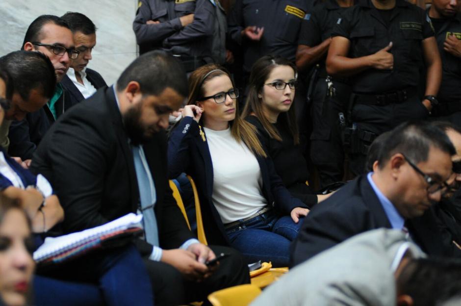 La exasistente de Roxana Baldetti, Daniela Beltranena, se declaró inocente en su primera declaración. (Foto: Alejandro Balán/Soy502)