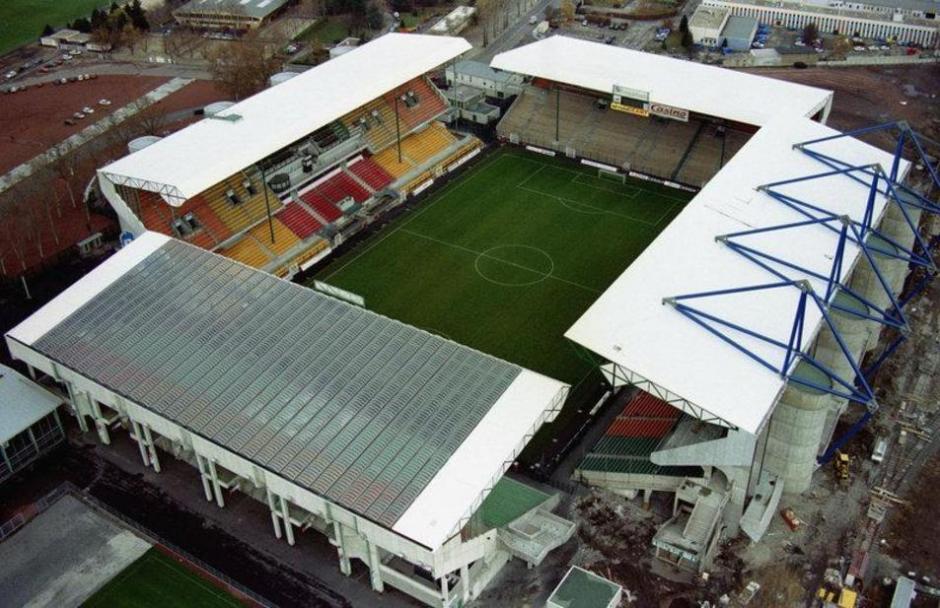 Vista aérea del estadio Geoffroy-Guichard. (Foto: elmundo.es)