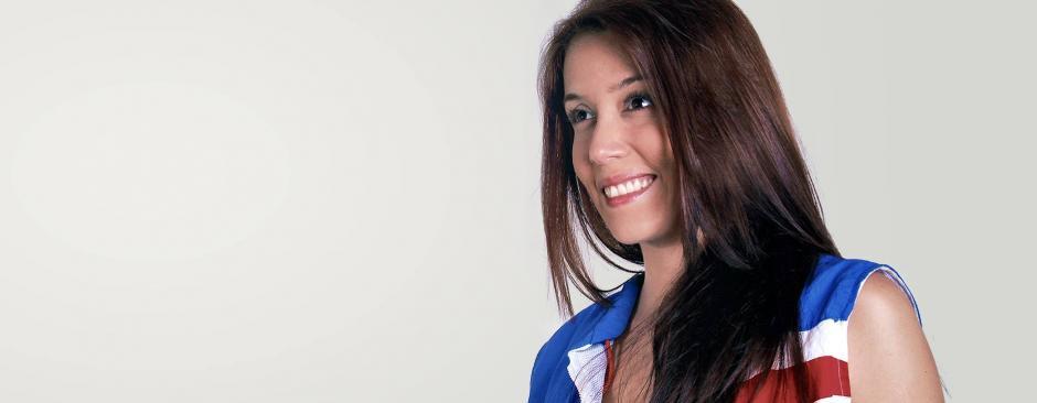 El morbo incrementa en la población salvadoreña, pues la exdiputada es muy atractiva. (Foto: Feli Cristales/Facebook)