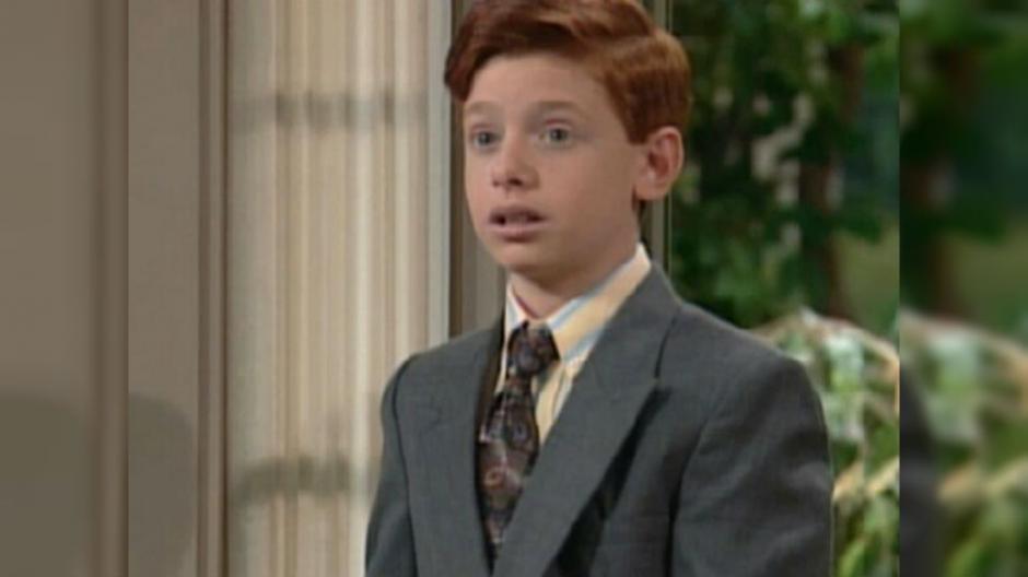 Jason Zimbler interpretaba a Ferguson, el hermano menor de Clarissa. (Foto: lared.cl)
