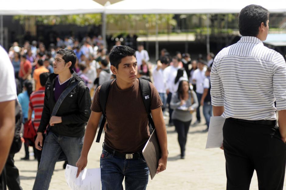 En la feria ofrecerán 18 mil puestos de empleo. (Foto: Archivo/Soy502)