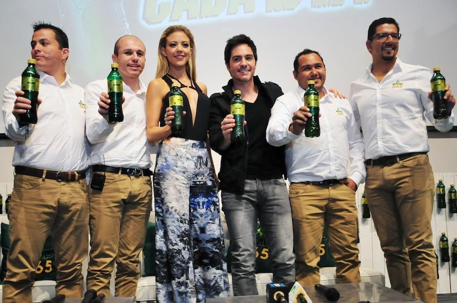 Los actores serán protagonistas de una serie de comerciales en el país. (Foto: Selene Mejía/Soy502)