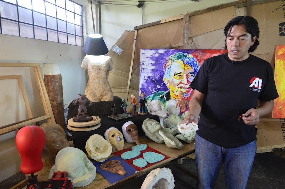 El guatemalteco es un apasionado del cine de terror. (Foto: Selene Mejía/Soy502)