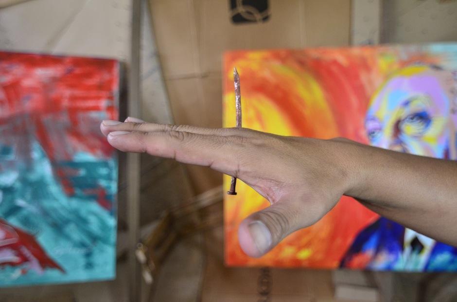 """También trabaja """"Stop Motion"""" y dirección de arte. (Foto: Selene Mejía/Soy502)"""