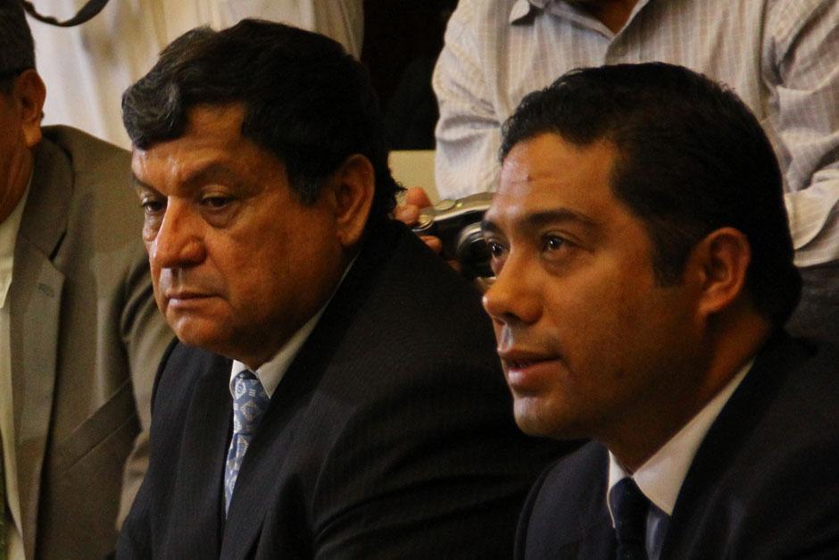 Fernando García Gudiel (derecha) sustituirá a Rabbé. (Foto: Archivo/Soy502)