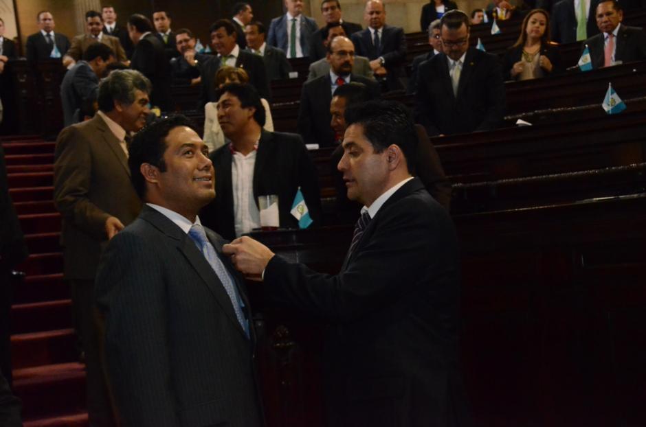 Fernando García Gudiel fue juramentado como diputado este jueves. (Foto: cortesía José Castro)