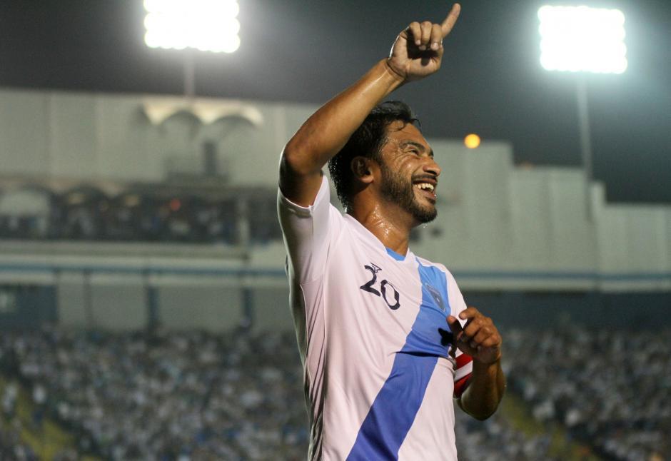 El capitán anotó el segundo gol que definió el partido (Foto: Luis Barrios/Soy502)