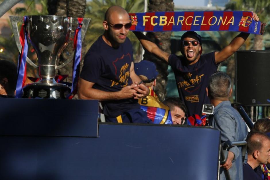 Javier Mascherano es uno de los emblemas del Barcelona. (Foto: AFP)