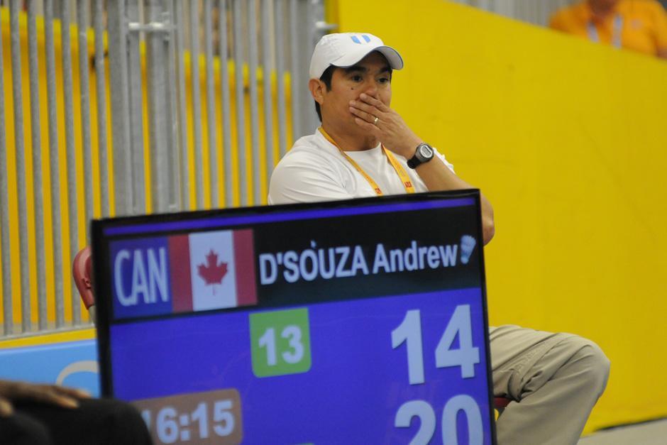 José María Solís sufrió desde su área técnica la final disputada por Kevin. (Foto: Pedro Mijangos/Soy502)
