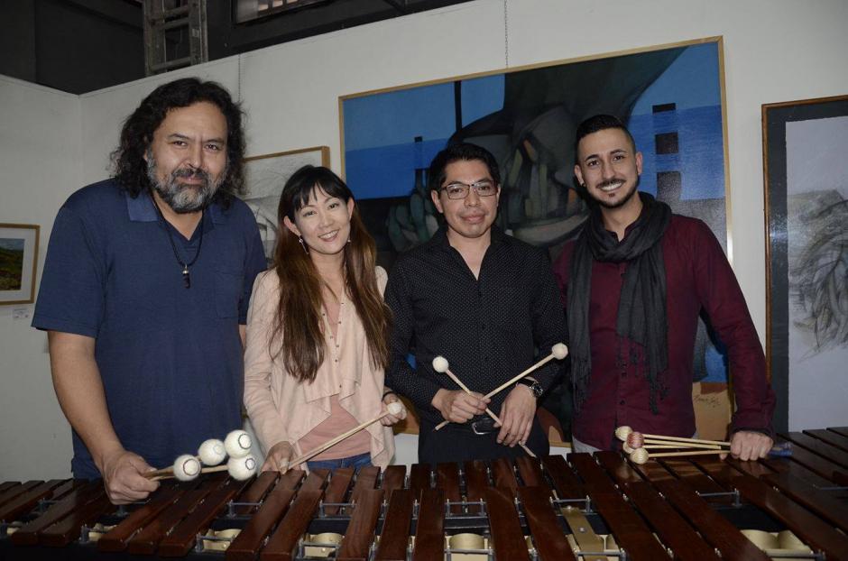 Javier Nandayapa, Keiko Kotoku, Fernando Vásquez y Conrado Moya invitan a un evento especial. (Foto: Stanley Herrarte/Nuestro Diario)