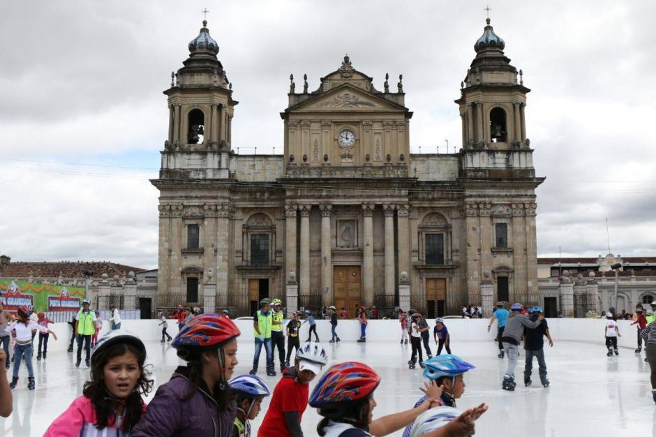 Este es el primer fin de semana del Festival Navideño del Paseo la Sexta. (Foto: Alejandro Balan/Soy502)