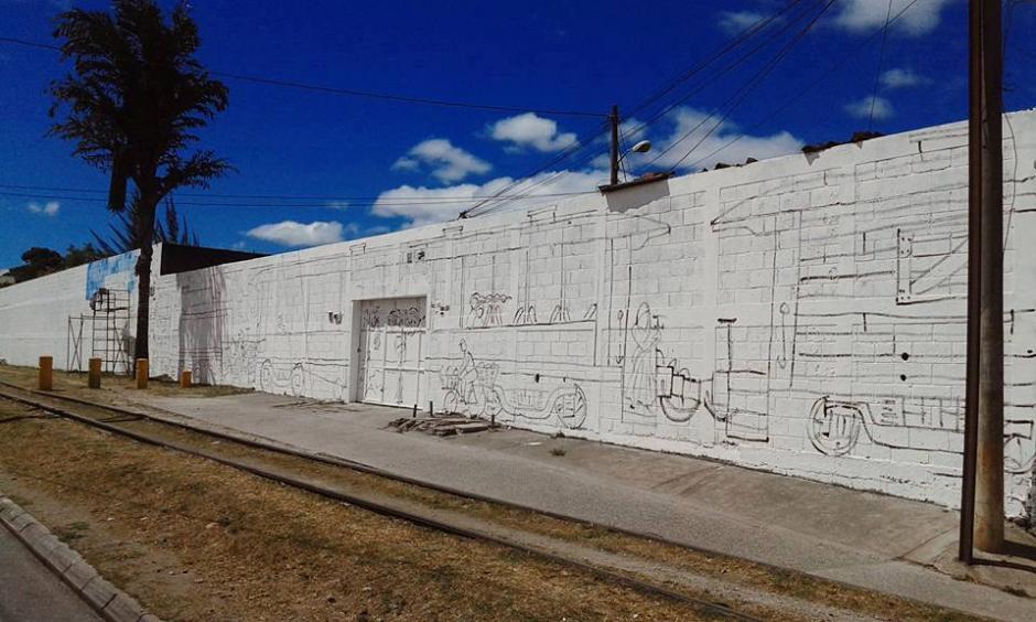 Cada una de las paredes de la Morera es cuidadosamente exaltado con un tema. (Foto: Celeste Mayorga)